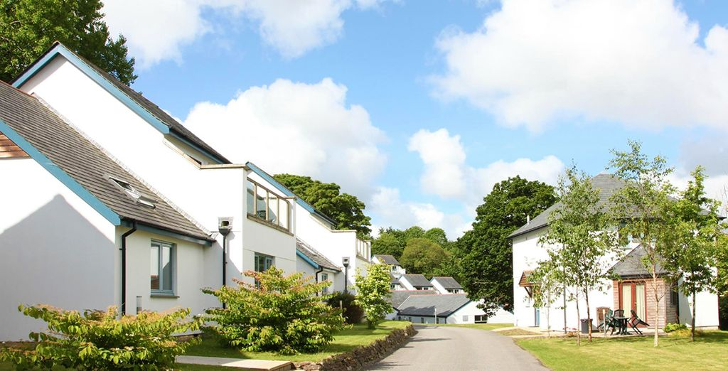 This tranquil rural location is only a few miles from the city of Truro