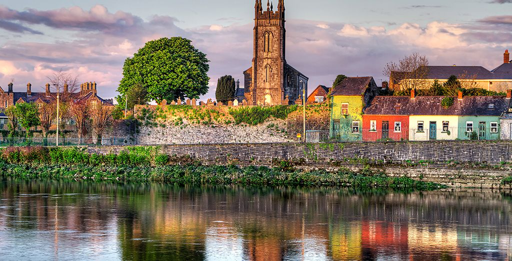 And snap a shot of the colourful facades of Limerick's houses