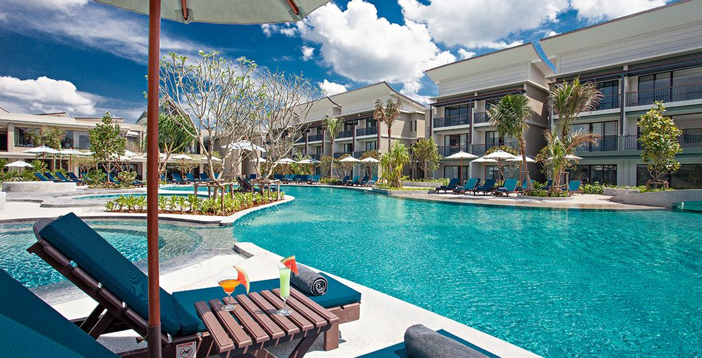 For a 5 or 7 night stay at the Bangsak Merlin Resort 5*