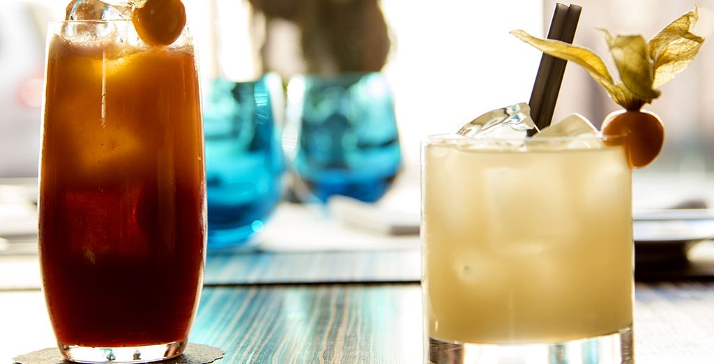 As well as tasty beverages to refresh you from your travels