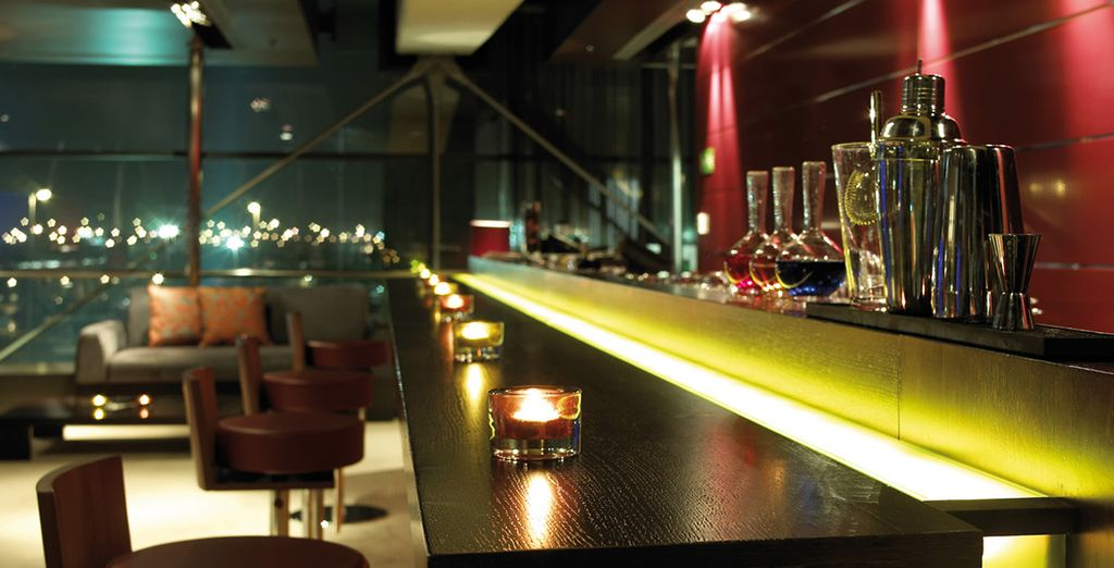 After a day's sightseeing, head to one of the cool bars...