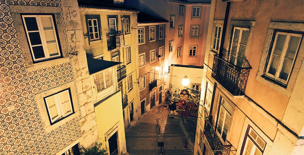 In the evenings, return to the city for its buzzing night life