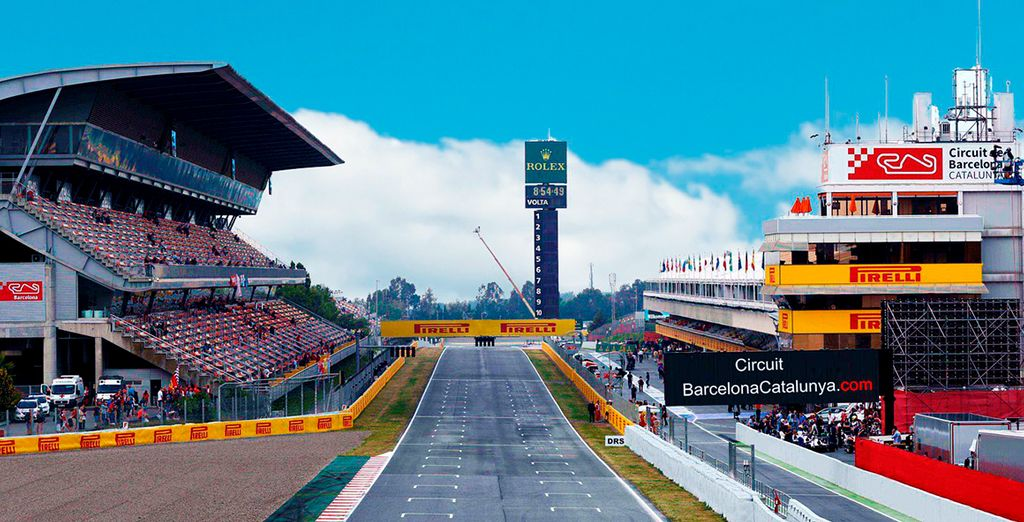 This 2018, we're offering you tickets to the Formula 1 Circuit de Barcelona-Catalunya