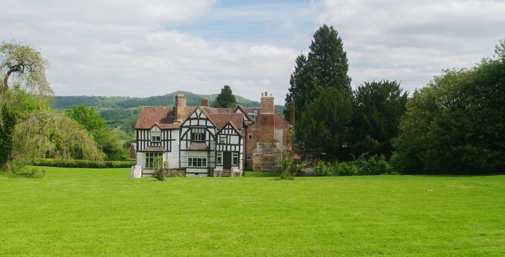 Nestled in the Worcestershire countryside