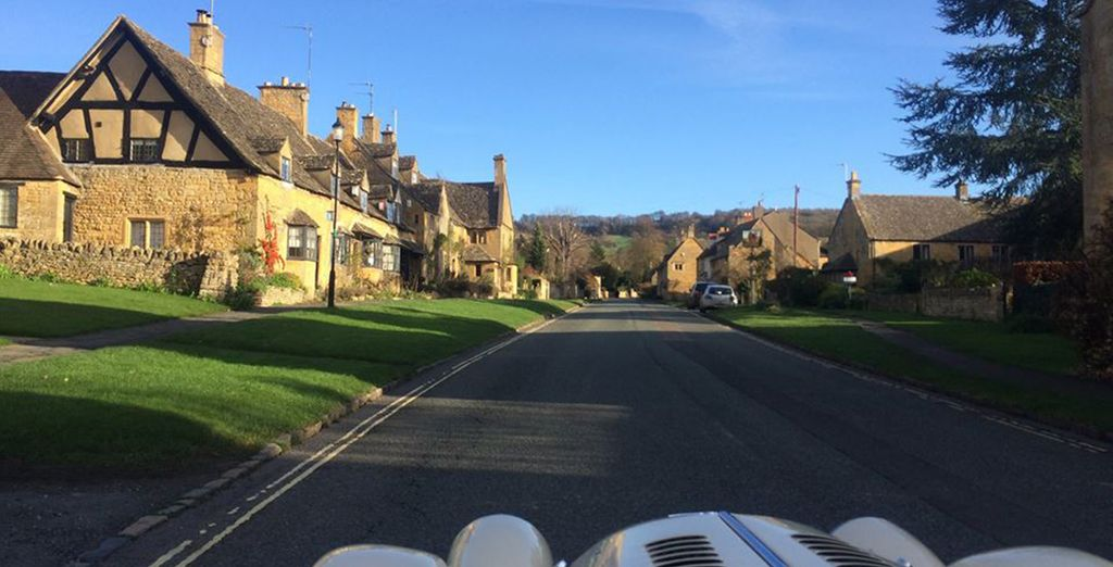For a perfect day whizzing through country lanes!