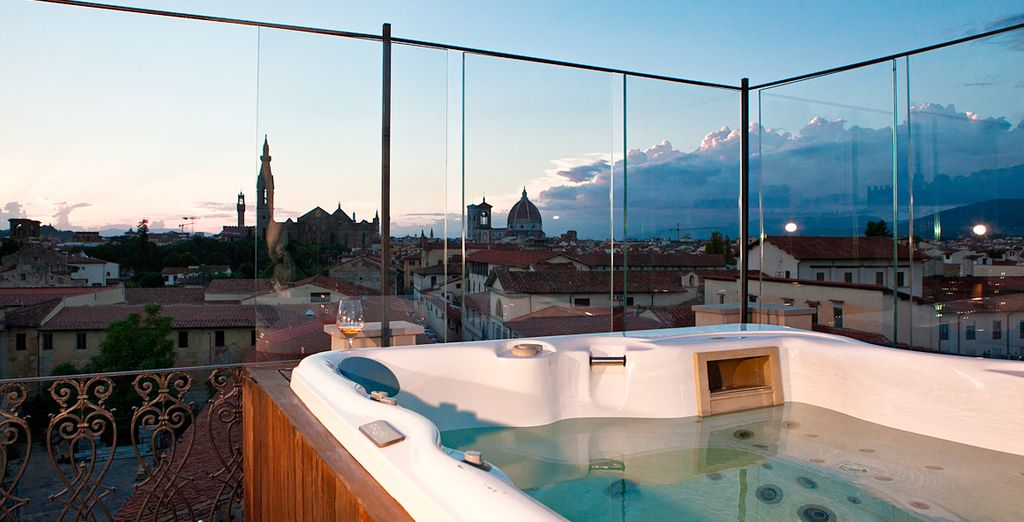 Hotel Home Florence 4* - private jacuzzi with Voyage Privé