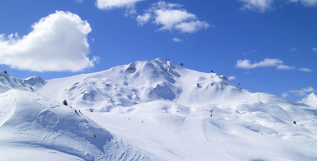 Where to ski in April