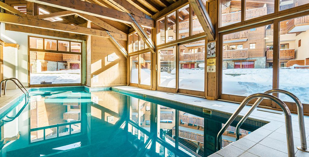 Lagrange Prestige Residence Les Chalets D'Edelweiss 4* - ski in april