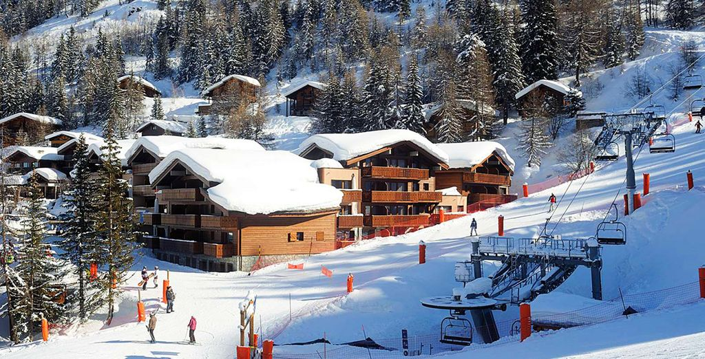 The Best Places to Ski in April : La Plagne