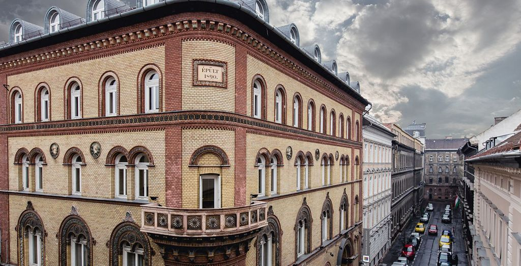 Stay in a beautiful Hungarian hotel