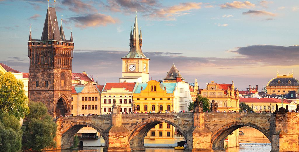 Book your hotel in Prague now at voyage-prive.co.uk