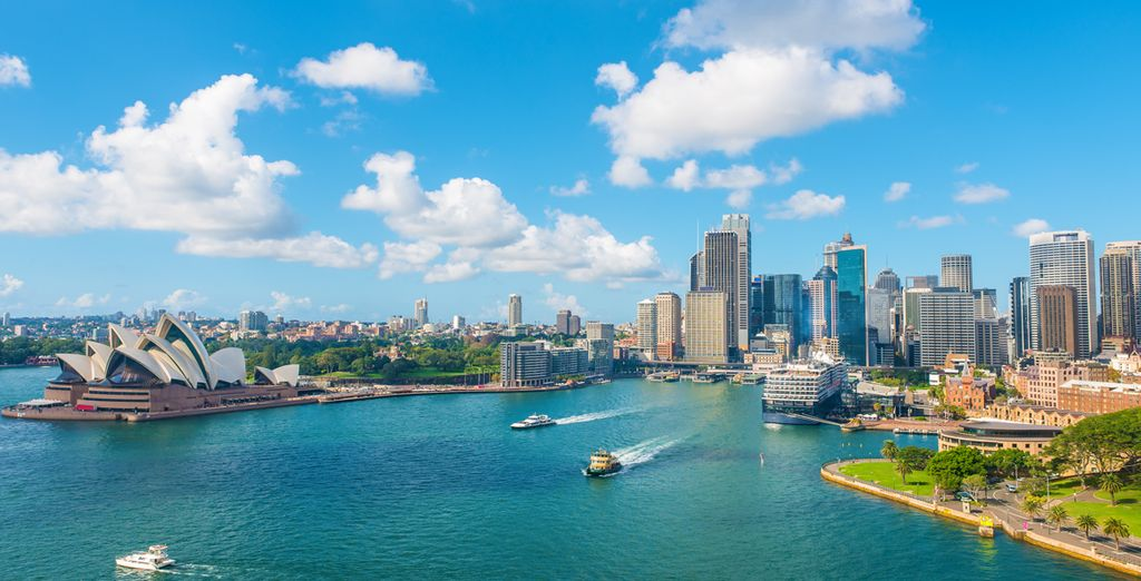 Find the best hotel in the Central Business District of Sydney