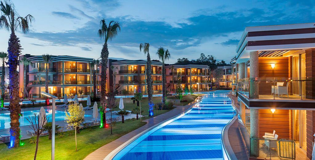 TUI Magic Life Masmavi 5* - all inclusive five stars hotel in Turkey