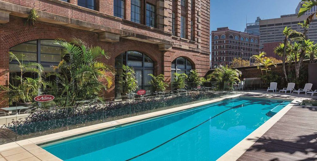 Adina Apartment Hotel Sydney Central - hotel with pool in Sydney