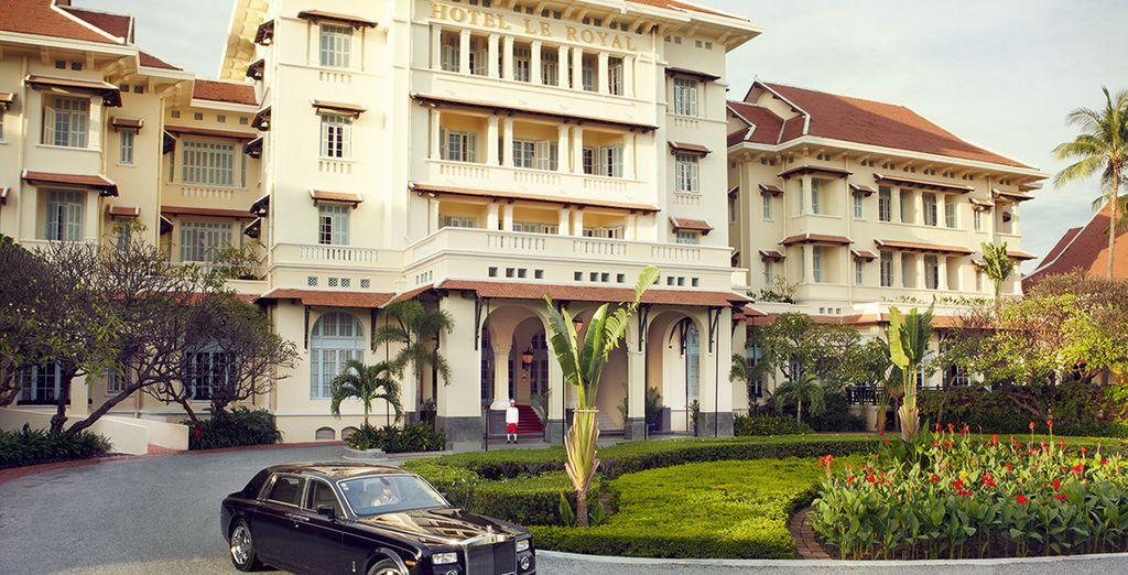 Including 2 iconic Raffles hotels