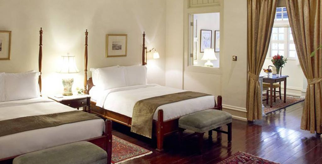 Stay for 2 nights in a Courtyard Suite