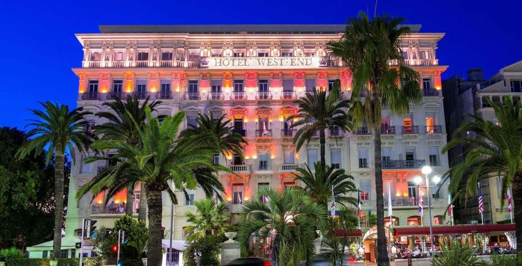 Hotel West End Nice 4* - Best hotel in Nice