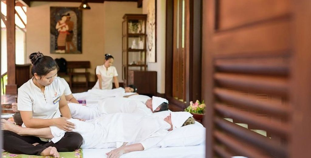 Indulge in a treatment for the senses