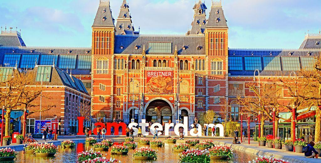 Holidays in Amsterdam : Rijksmuseum