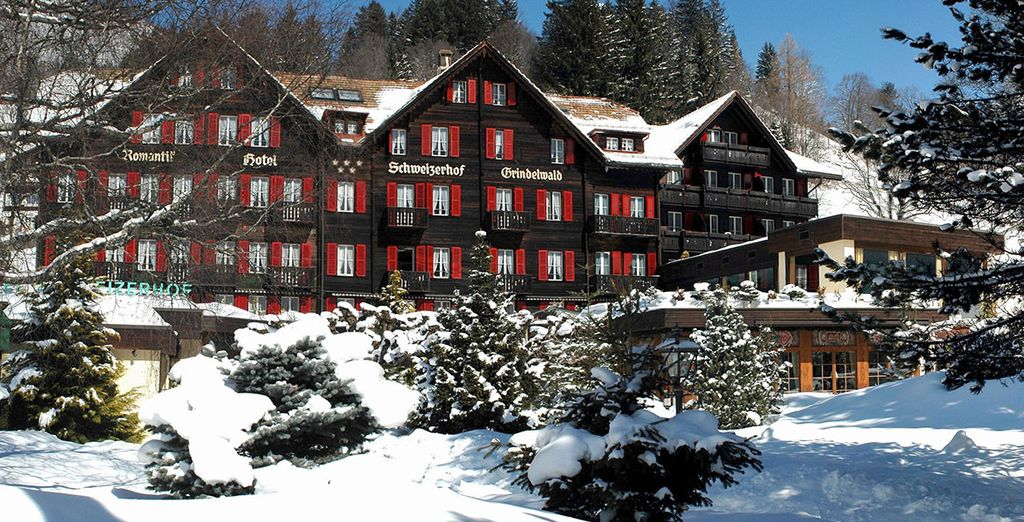Romantik Hotel Schweizerhof Grindelwald 5* - ski resort in Switzerland