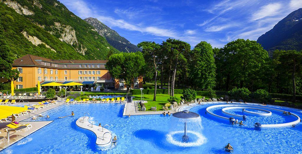 Grand hotel des bains de lavey 3 superior voyage priv for Grand hotel des bain