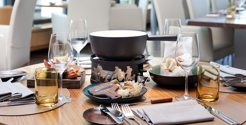 A convivial and sumptuous Swiss Fondue is something to enjoy