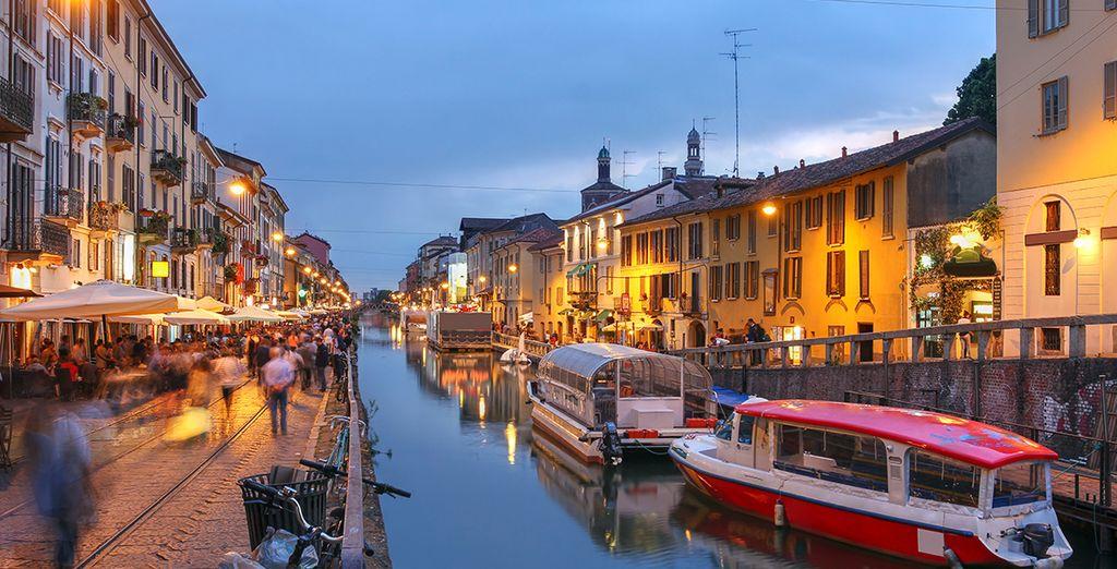 Stroll along the Navigli Canal