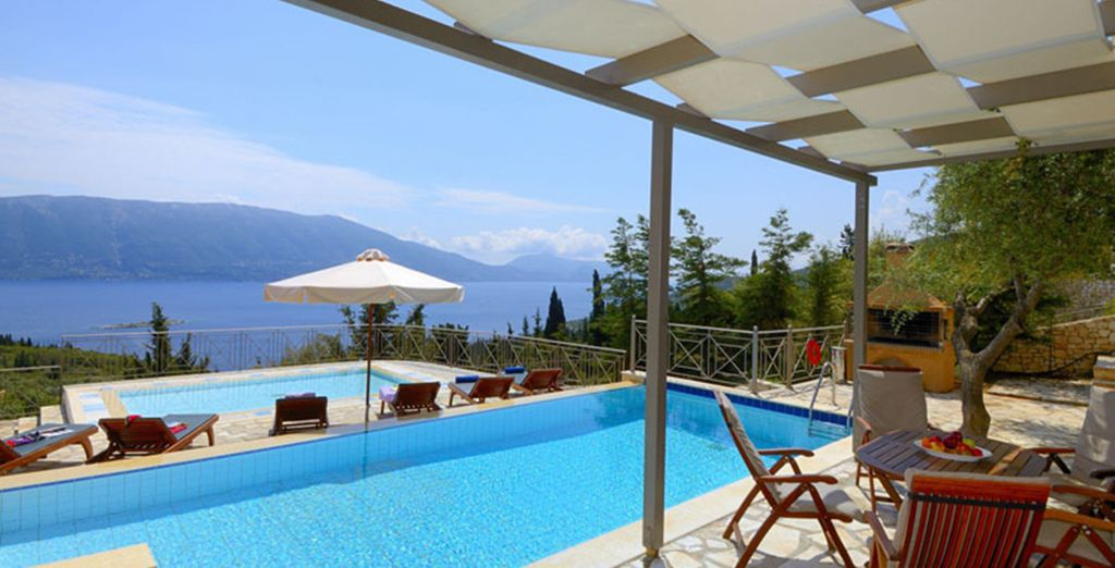 In a privileged location, nestled high in the hills of Kefalonia - Villas Helios & Asteria Kefalonia