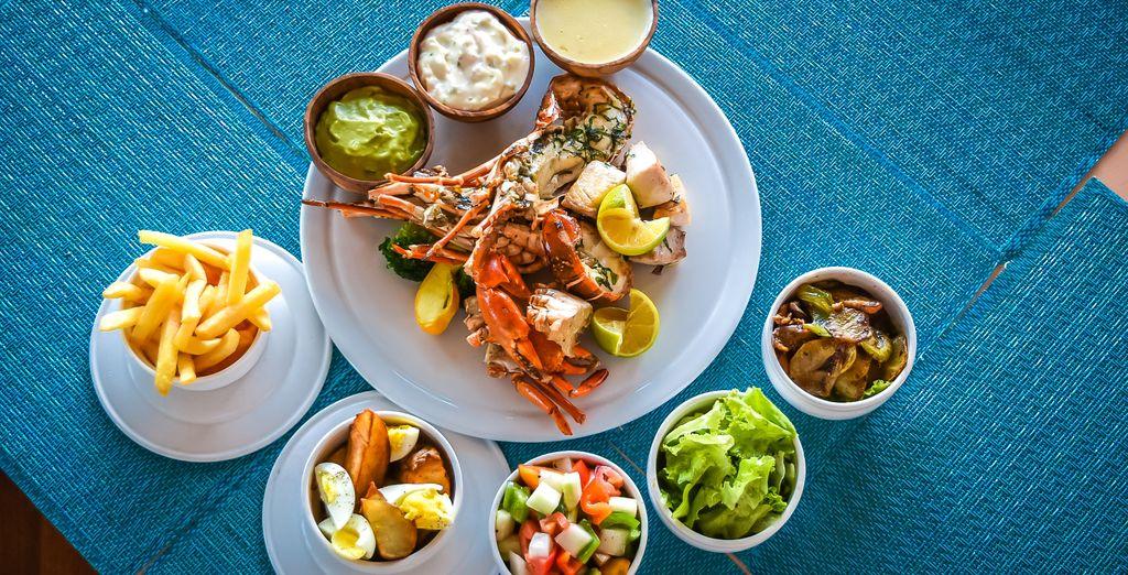 The food at Sengala Restaurant