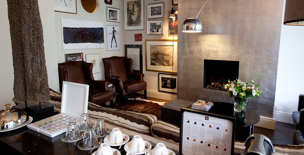 From the comfort of this boutique hotel - Hotel Roemer**** - Amsterdam Amsterdam