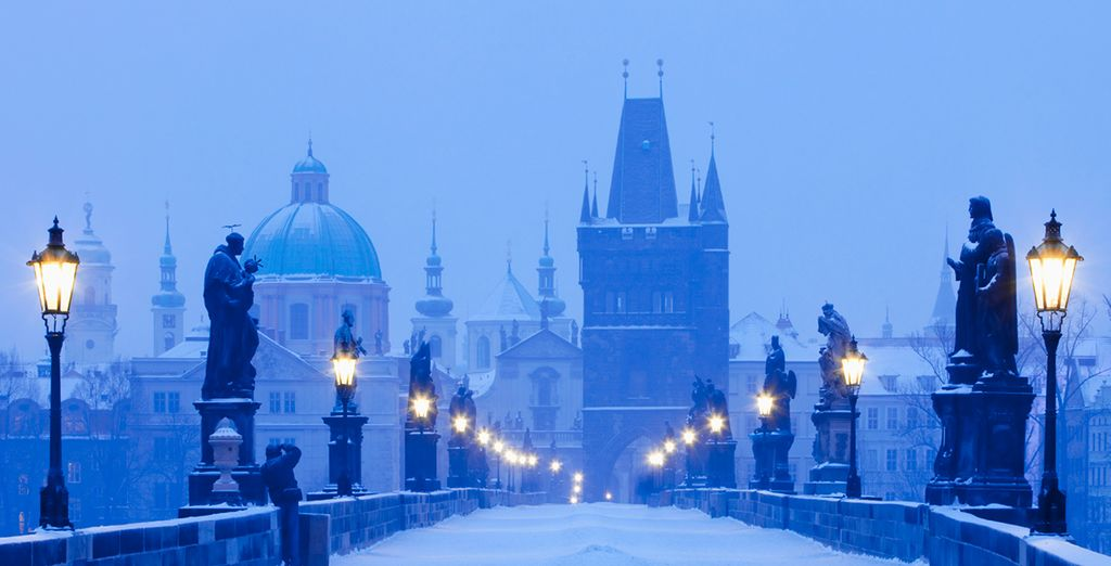 In the stunning city of Prague this winter...
