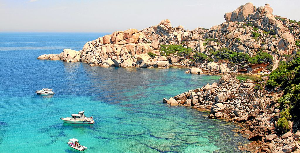 Or set out to explore the beautiful Costa Smerelda