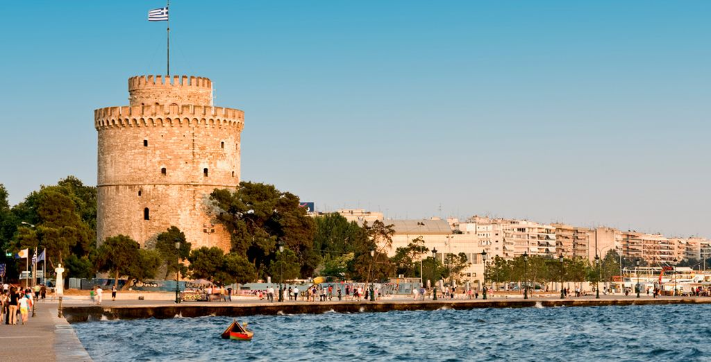 The city of Thessaloniki is also only an hour and a half away!