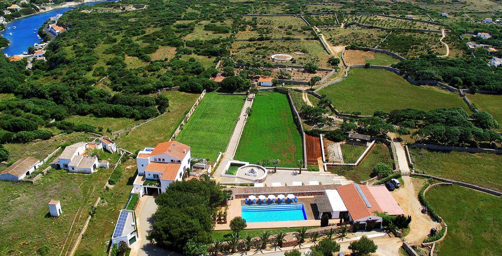 Stay in this fabulous, rural hotel - Sant Joan de Binissaida**** - Menorca - Spain Menorca