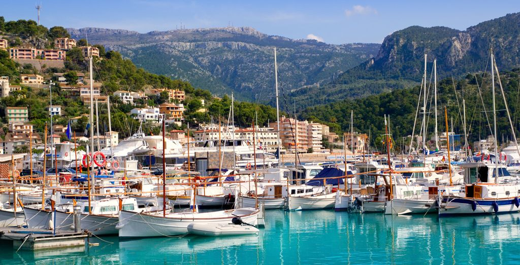 Located in the Mallorcan town of Soller