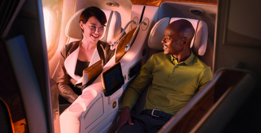 Start your journey in luxury [Business Class]