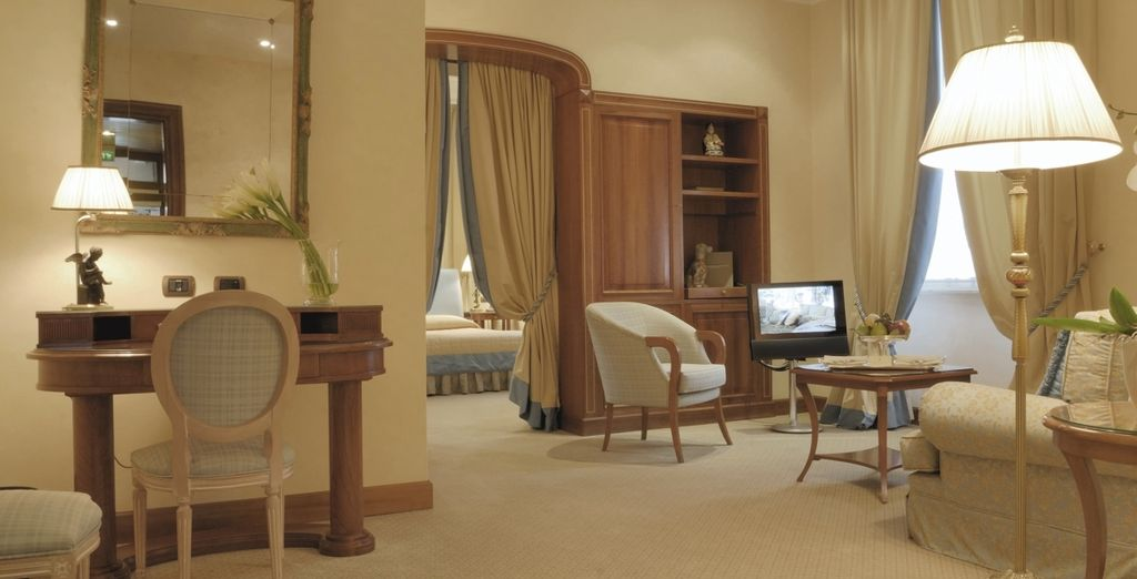 So stretch out in these elegant spaces (pictured: Classic Suite)