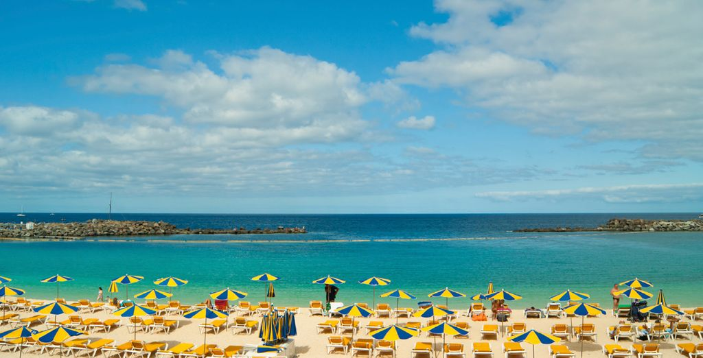 Beautiful beaches in Gran Canaria
