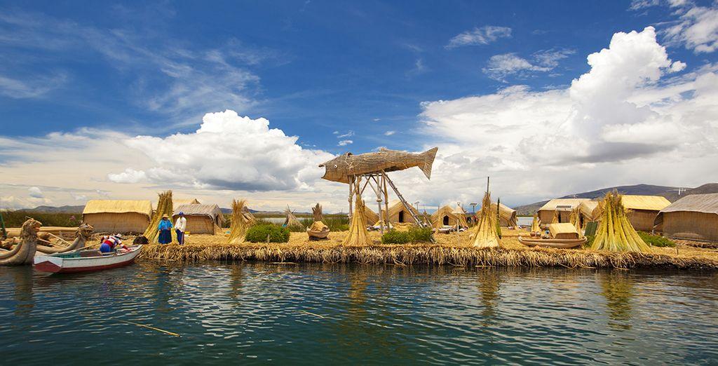 Travel along Lake Titicaca