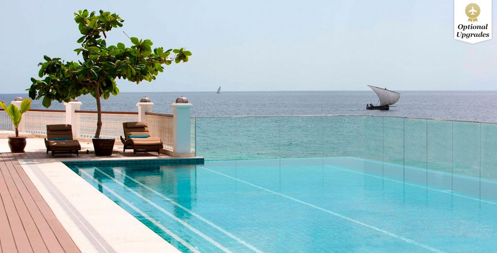 An oceanfront infinity pool dream