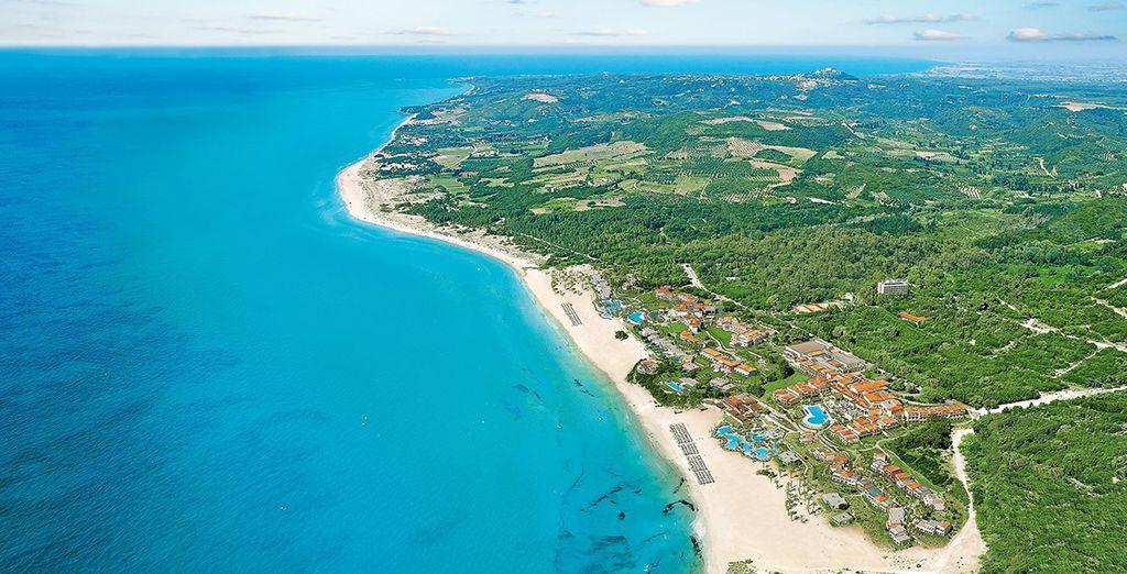 Right on the coast - Grecotel Olympia Riviera Thalasso 5* Peloponnese