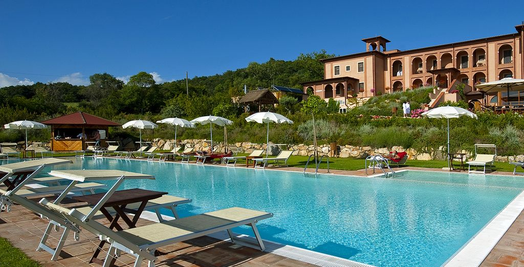 When you book a stay at Saturnia Tuscany Hotel