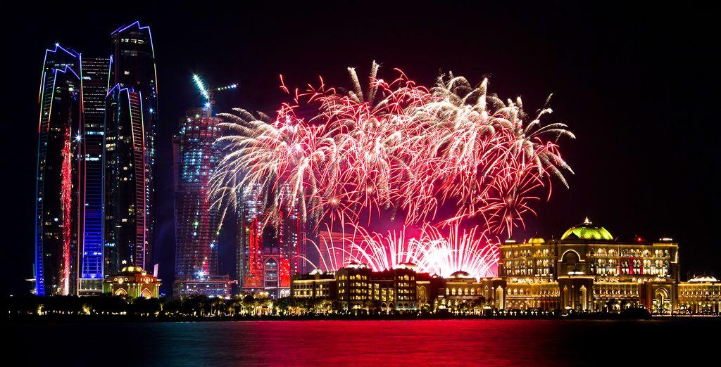 Celebrate the new year in Abu Dhabi