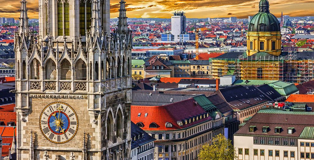 Best hotels in Munich - Luxury hotels up to 70% off - discounted prices