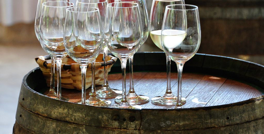 As well as its excellent cuisine and wine - don't miss out on a little wine tasting!