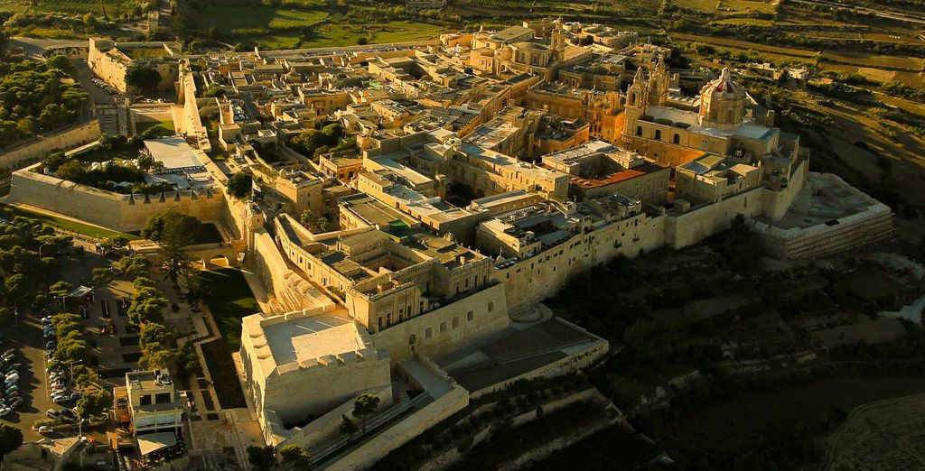 The beautiful Mdina is waiting for you