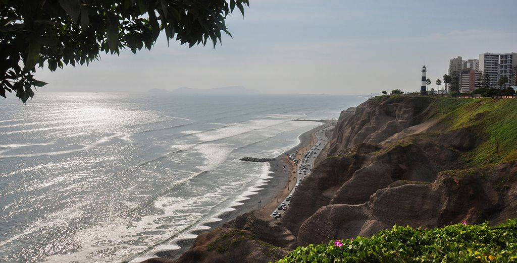 Beginning in the beachside city of Lima
