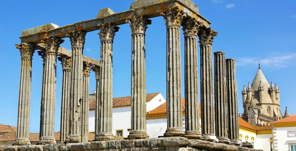 Evora is home to a wealth of history