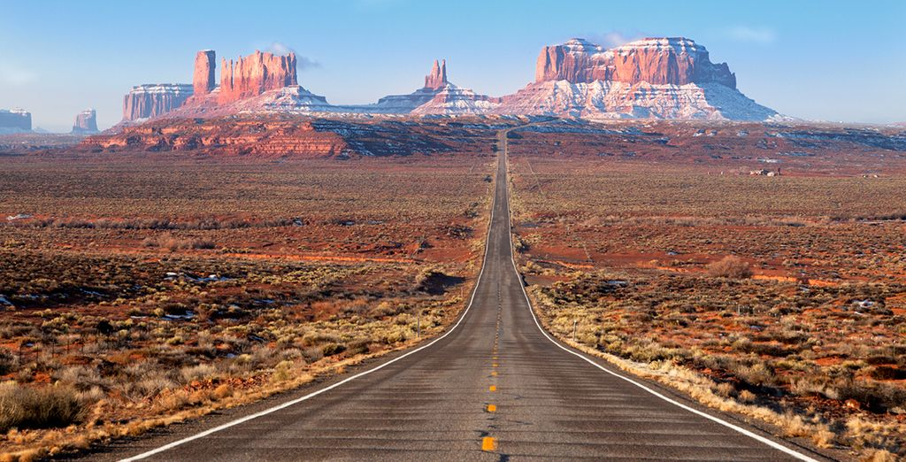 The famed journey begins - Drive Route 66 Chicago, Las Vegas & Los Angeles