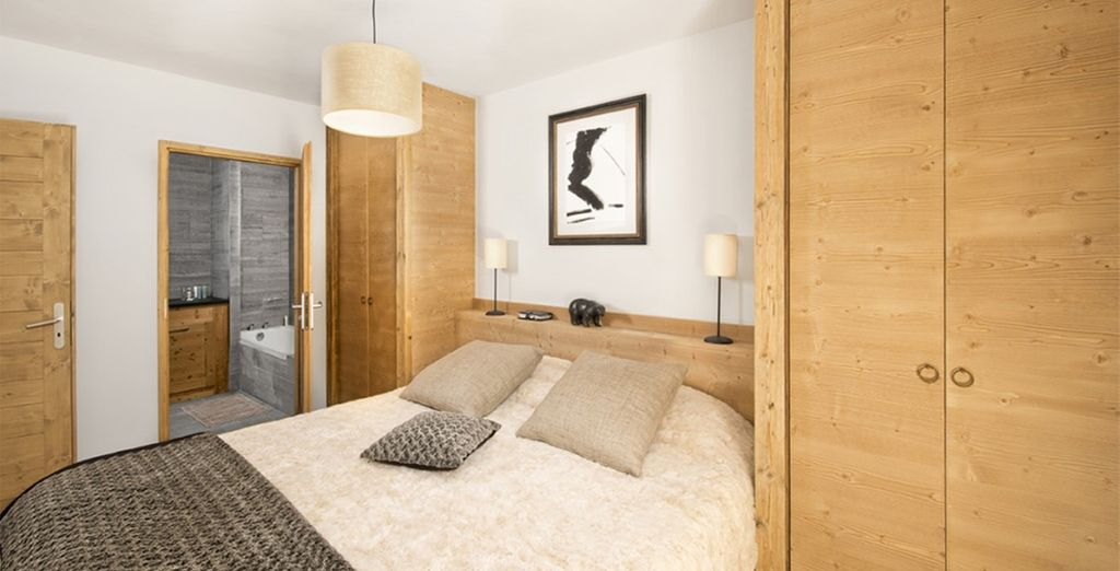 Offers comfortable, modern apartments